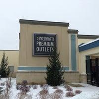 Photo taken at Cincinnati Premium Outlets by Masatomo M. on 2/2/2013