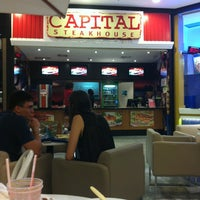 Photo taken at Capital Steak House Express by Thais G. on 10/12/2013