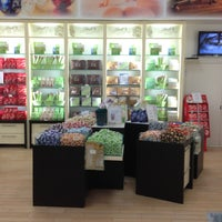 Photo taken at Lindt Chocolate by Jeanne M. on 6/10/2013
