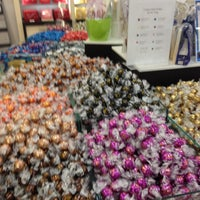 Photo taken at Lindt Chocolate by Jeanne M. on 6/6/2013