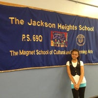 Photo taken at P.S. 069 Jackson Heights by Tammy R. on 5/23/2013