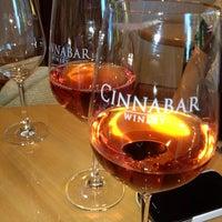Photo taken at Cinnabar Wine Tasting Room by Suzanne on 7/28/2013