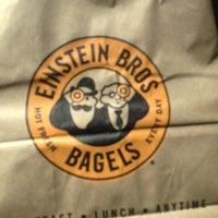 Photo taken at Einstein Bros Bagels by Steve F. on 8/31/2014