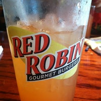 Photo taken at Red Robin Gourmet Burgers by Katie N. on 5/20/2013