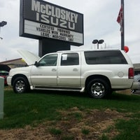 Photo taken at McCloskey Imports & 4X4's by Wendy C. on 5/18/2013