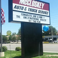 Photo taken at McCloskey Imports & 4X4's by Wendy C. on 7/18/2013
