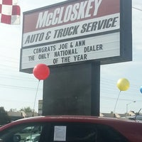 Photo taken at McCloskey Imports & 4X4's by Wendy C. on 7/6/2013