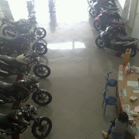 Photo taken at Zirang Honda by Wigandino B. on 9/10/2013