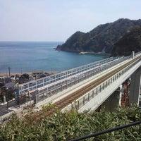 Photo taken at Amarube Station by 是 柳. on 4/14/2013