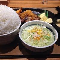 Photo taken at ごはん処 やよい軒 菊川店 by Ryoji K. on 8/3/2015