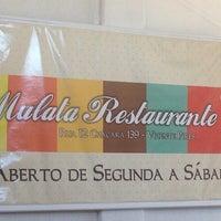 Photo taken at Mulata Restaurante by Bianca C. on 7/9/2013