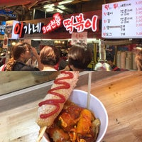 Photo taken at 이가네떡볶이 by Yoonhee R. on 7/15/2016