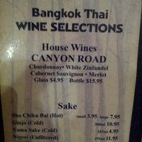 Photo taken at 9 Bangkok Thai Restaurant by Hillary M. on 4/17/2013