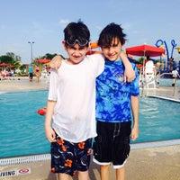 Photo taken at Pharr Aquatic Center by Myssie C. on 6/21/2014