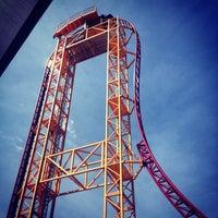 6/4/2013 tarihinde Abigail C.ziyaretçi tarafından Six Flags Over Georgia'de çekilen fotoğraf