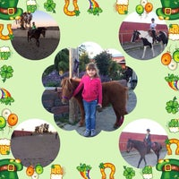 Photo taken at Horsin' Around Riding Lessons by Jacqulyn M. on 3/18/2014