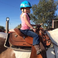 Photo taken at Horsin' Around Riding Lessons by Jacqulyn M. on 3/17/2014