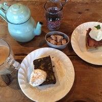 Photo taken at Cafe Amar by Genki Y. on 3/15/2014