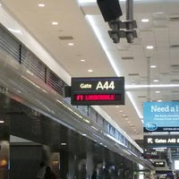 Photo taken at Gate A44 by Nyree P. on 9/19/2013