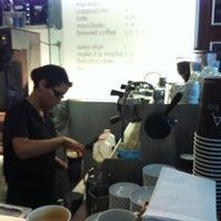 Photo taken at FIKA Espresso Bar by Mo N. on 10/17/2012