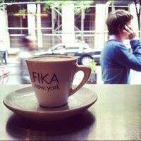 Photo taken at FIKA Espresso Bar by Mo N. on 9/20/2012