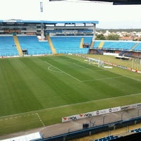Photo taken at Estádio Aderbal Ramos da Silva (Ressacada) by Daniel I. on 9/29/2012