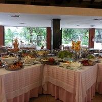 Photo taken at Restaurant del Asuncion Golf Club by Rossanna C. on 5/18/2014
