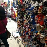 Photo taken at Arena Adolfo Lopez Mateos by Jose Luis R. on 5/19/2013