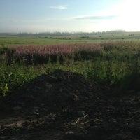 Photo taken at Трасса А114 «Вологда — Новая Ладога» by Катерина V. on 7/25/2014