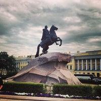 Photo taken at Bronze Horseman by Анжелика Б. on 6/7/2013