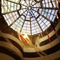 Photo taken at Solomon R Guggenheim Museum by Lucas T. on 4/20/2013