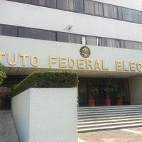 Photo taken at Instituto Federal Electoral by Carlos E. on 4/15/2013