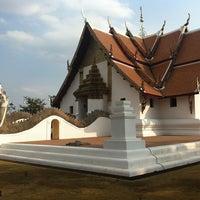 Photo taken at Wat Phu Mintr by Ma-ii K. on 1/10/2013