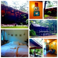 Photo taken at Chachanat Woodland Resort by Ma-ii K. on 7/11/2013