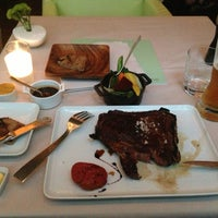 Photo taken at [m]eatery by Yaroslav N. on 7/4/2013