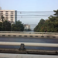 Photo taken at Lam Sali Intersection by Aniraporn I. on 2/7/2013
