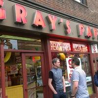 Photo taken at Gray's Papaya by Melvyn G. on 4/28/2013