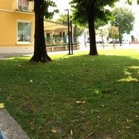 Photo taken at Largo Gabriele D'Annunzio, Salò by Simone B. on 7/13/2013
