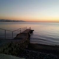 Photo taken at Ögmeiş Sahil by Kutluhan G. on 10/22/2013