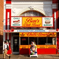 Photo taken at Ben's Chili Bowl by Travel + Leisure on 1/11/2013
