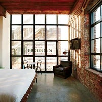 Photo taken at Wythe Hotel by Travel + Leisure on 3/12/2013
