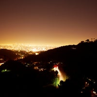 Photo taken at Mulholland Drive by Travel + Leisure on 10/1/2012