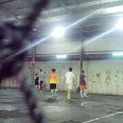 Photo taken at Lampung Futsal by Rizki F. on 6/14/2013