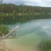 Photo taken at Голубые Озера / Blue Lakes by Надюшкин М. on 6/3/2013