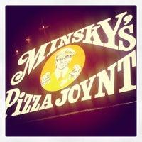 Photo taken at Minsky's Pizza by Elise C. on 3/5/2013