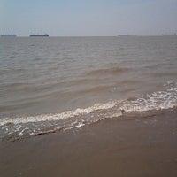 Photo taken at patenga Beach by Kollul R. on 3/3/2014