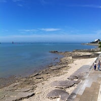 Photo taken at Plage de la Concurrence by Lucas S. on 5/6/2013