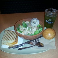 Photo taken at Panera Bread by Nina P. on 4/18/2013