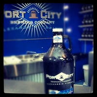 Photo taken at Port City Brewing Company by Tyler W. on 10/19/2012