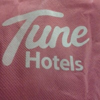 Photo taken at Tune Hotels by Maria M. on 5/24/2013